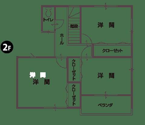 物件平面図2F